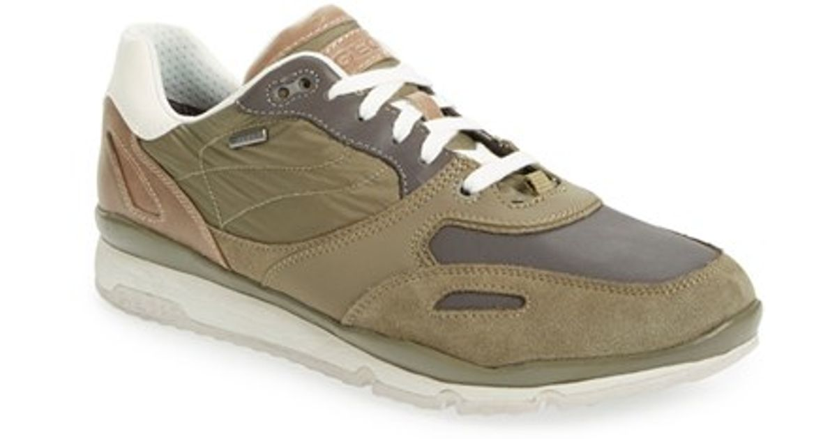 Geox Green Sandro Abx Amphibiox Sneakers for men