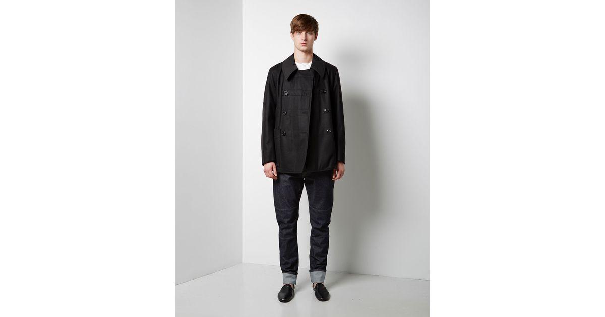 Lemaire Black Docker Jacket for men