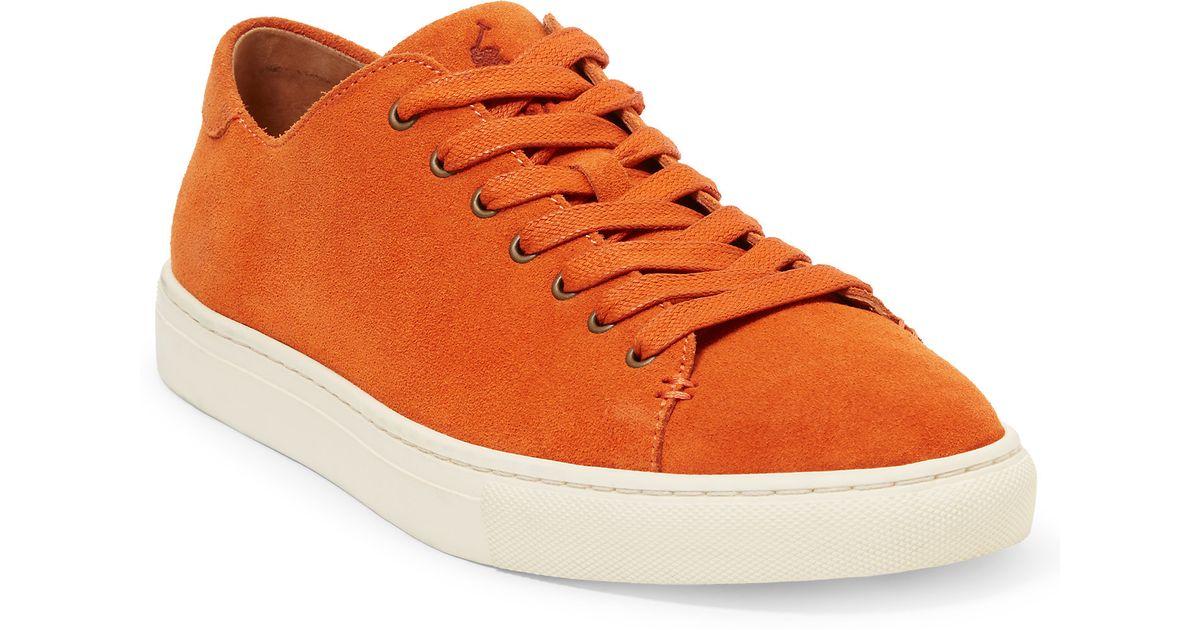 Polo Ralph Lauren Jermain Suede Sneaker