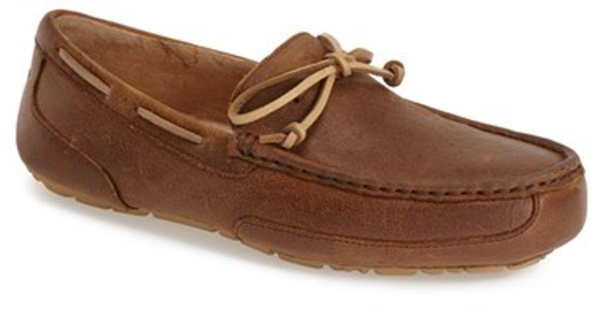 6698885d02b UGG Brown Australia 'chester' Driving Loafer for men