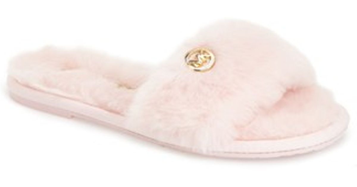 b05f1703cb17 Michael Kors Fur Slippers Pink - Image Skirt and Slipper Imagepv.co