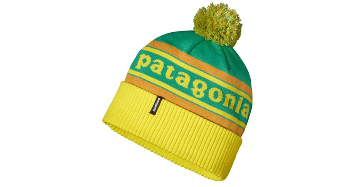 3308290e661 ... wholesale e6cf3 82009 Lyst - Patagonia powder Down Beanie in Green for  Men ...