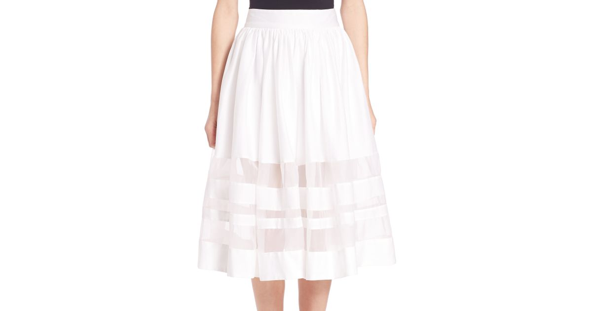 202 Paula Pleat Skirt moreover Skirts in addition Victoria beckham likewise Look We Love Black And White Florals likewise 2011 12 01 archive. on twill pencil skirt