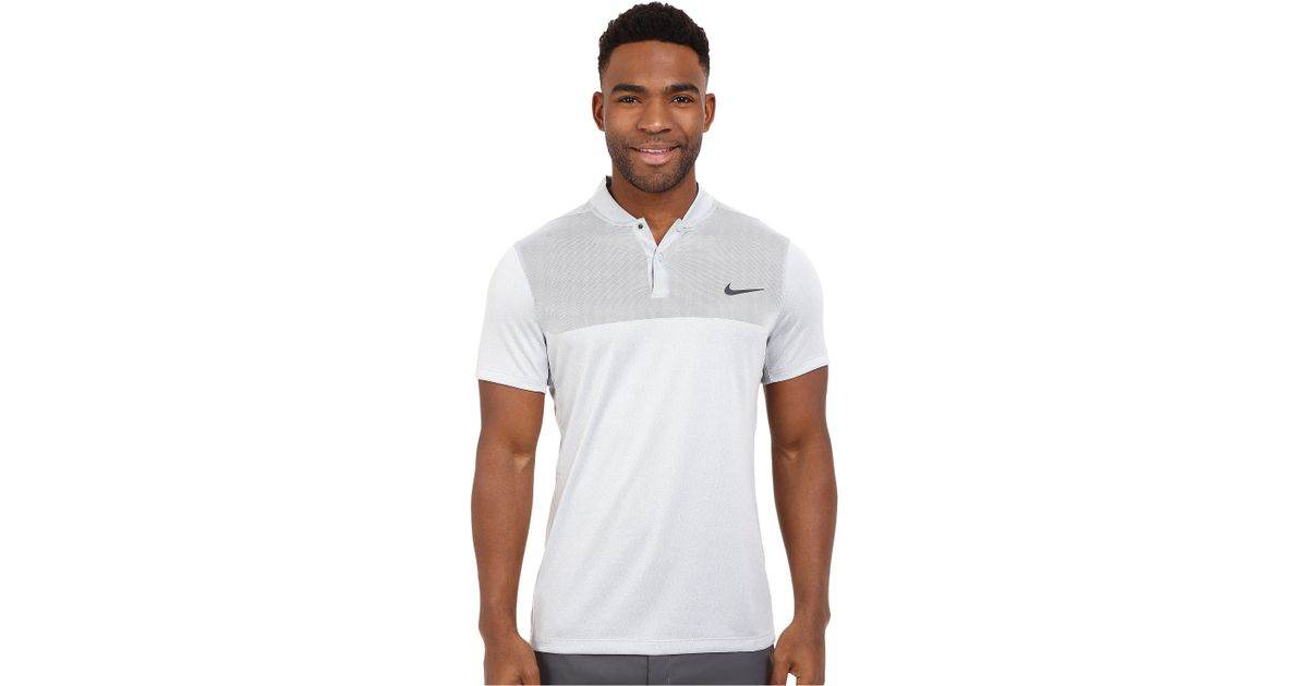 d44739a7e Nike Momentum Flex Knit Polo for Men - Lyst