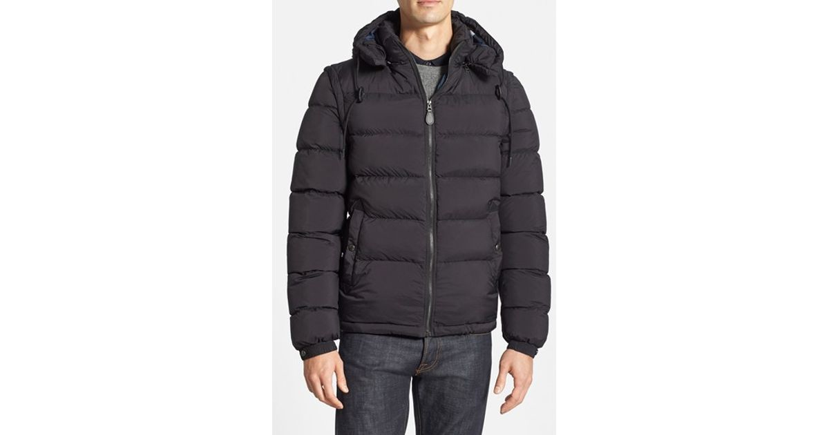 Lyst Burberry Brit Basford Detachable Puffer Jacket In