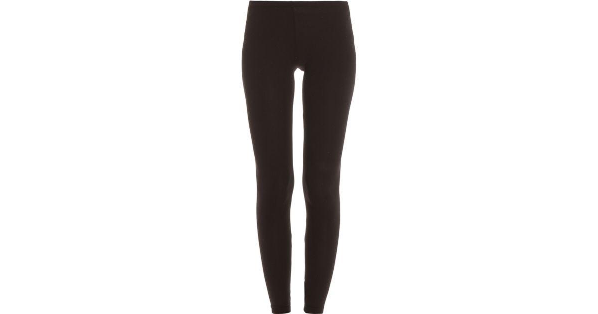 202bf1d357f185 Splendid Supima Cotton Legging in Black - Lyst
