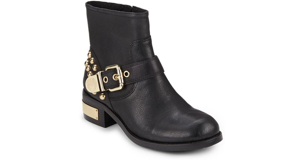 Vince Camuto Windetta Studded Leather