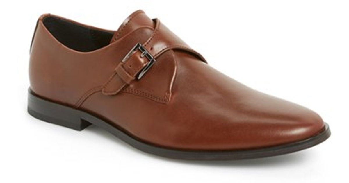 Calvin Klein Monk Strap Shoes Fashion