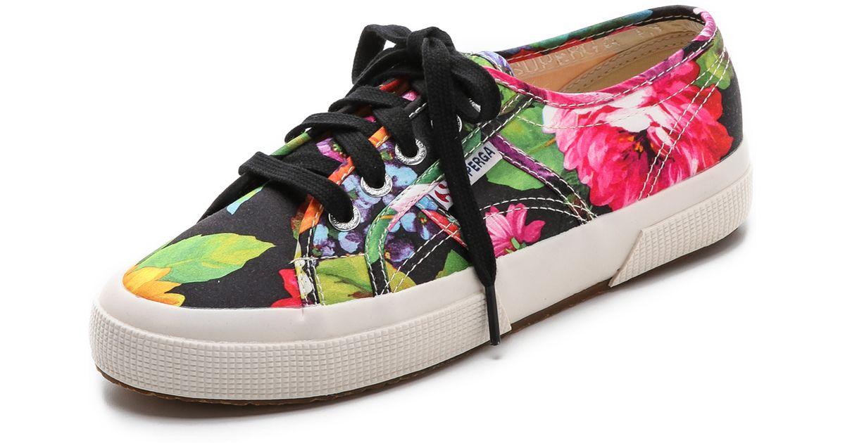 29e96997563 Superga Multicolor Hawaiian Floral Sneakers