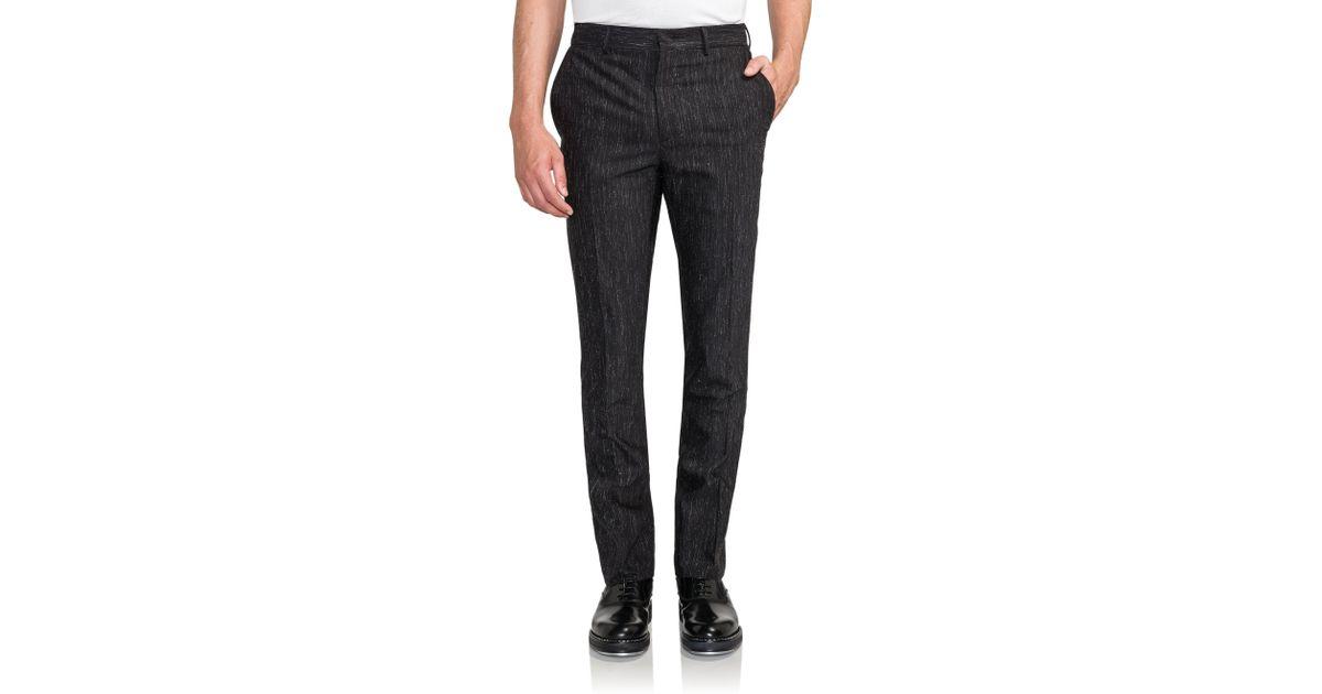 fendi rain trousers in black for men save 40 lyst. Black Bedroom Furniture Sets. Home Design Ideas