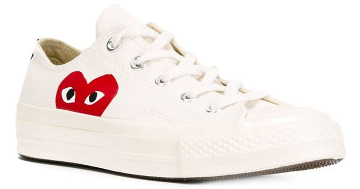 f803282f4e81b7 Lyst - Play Comme des Garçons Converse  Chuck Taylor  Sneakers in Natural