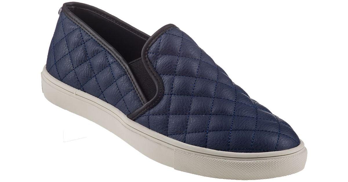 751a9b833b1 Lyst - Steve Madden Ecentrcq Slip-On Sneaker Navy in Blue