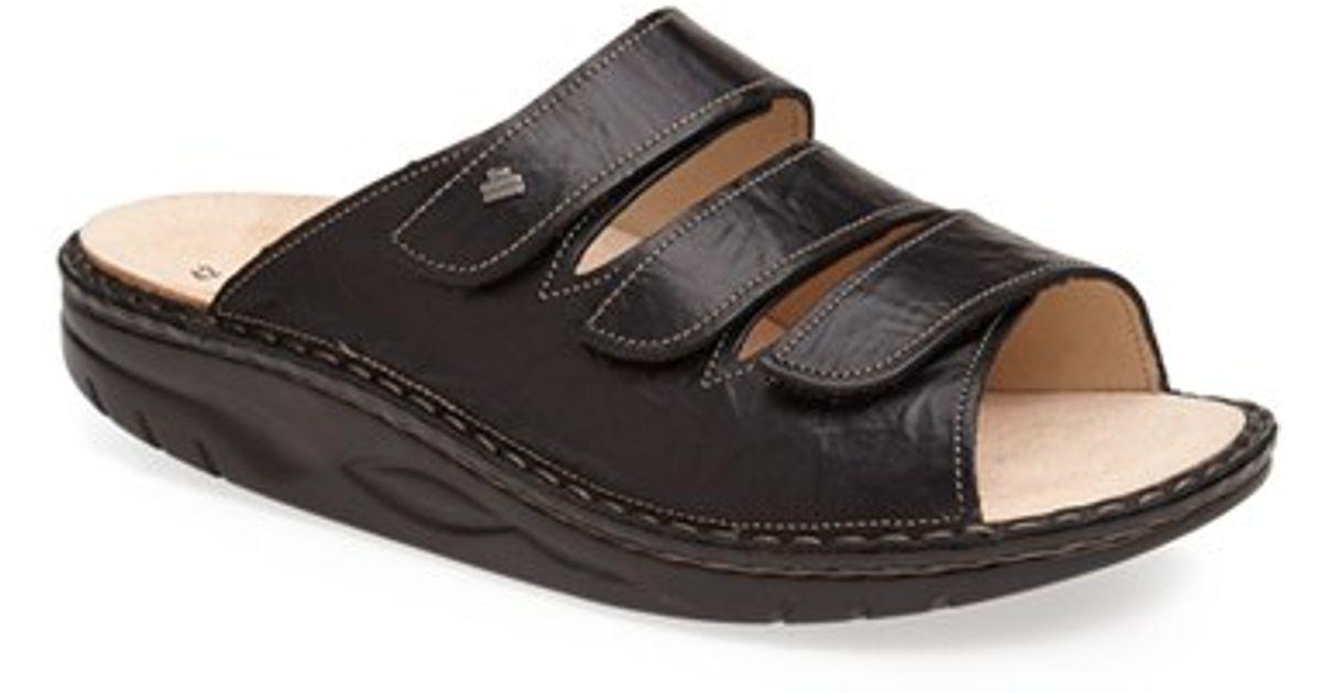 af288a1da068 Lyst - Finn Comfort  andros  Slide Sandal in Black for Men