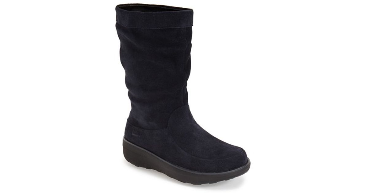 432b28f5a85940 Fitflop Loaff Slouchy Knee Boot