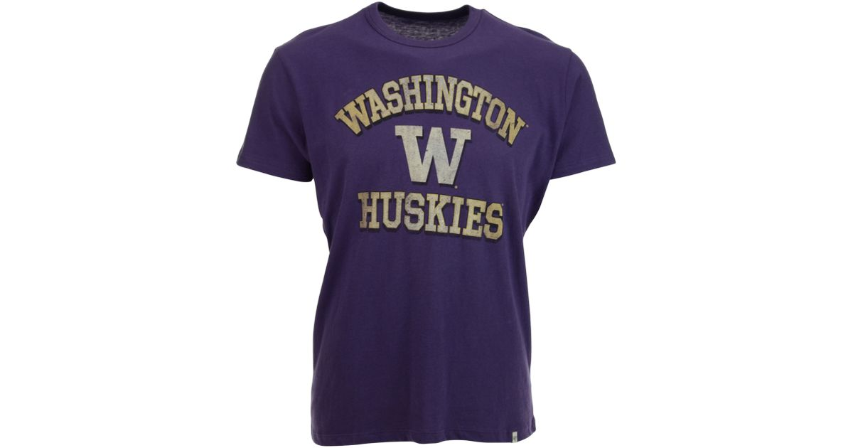 47 Brand Men 39 S Washington Huskies Flanker T Shirt In