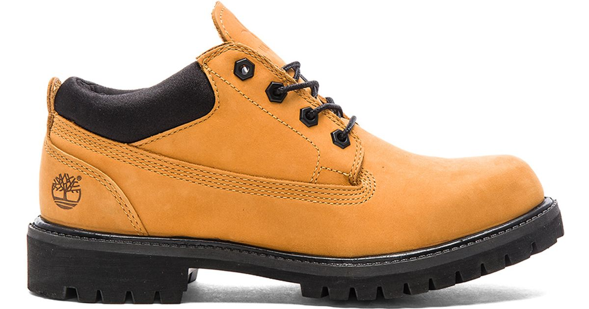 Lyst - Timberland X Timberland Classic Wp Ox in Natural for Men 118e60c75e4c