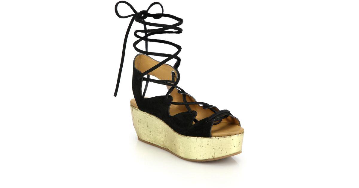 platform wedge sandals - Metallic Chloé 9GufXtxMmh