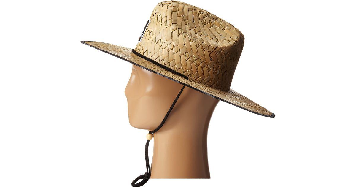 3bebb3e1 Quiksilver Outsider Hat in Natural for Men - Lyst