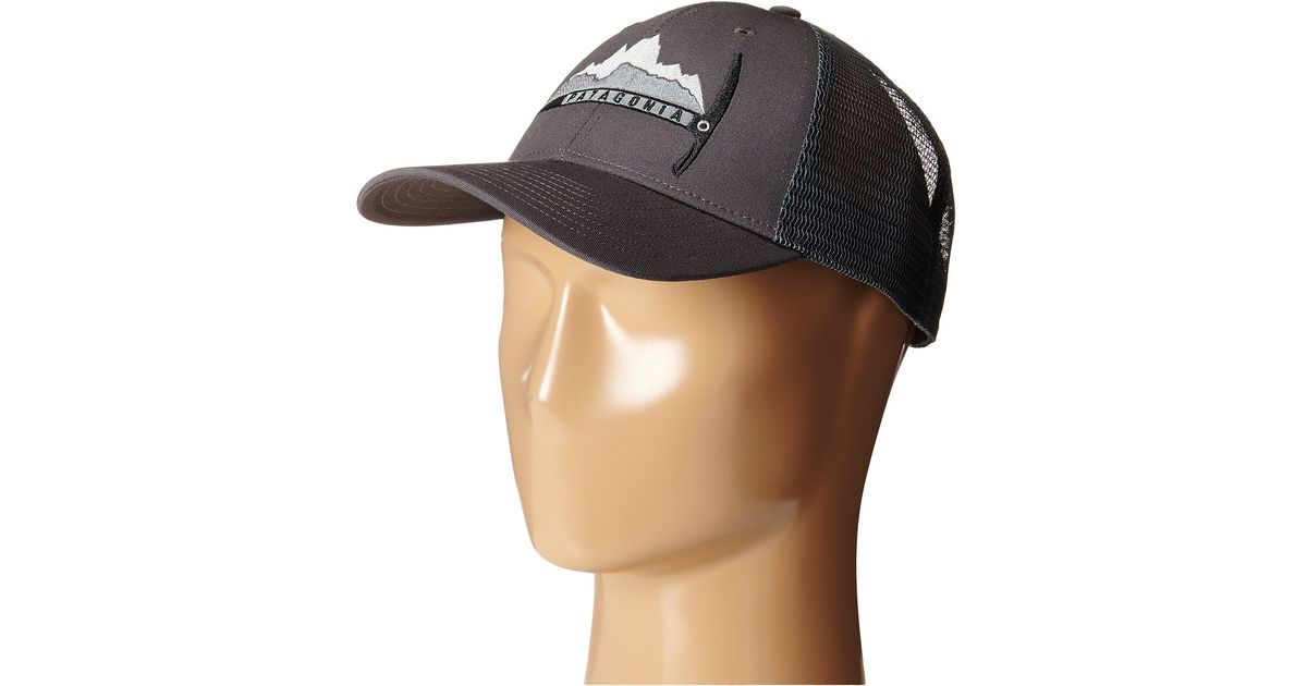 90e9441fbe1 Lyst - Patagonia Day-To-Day Piolet Lopro Trucker Hat in Gray for Men