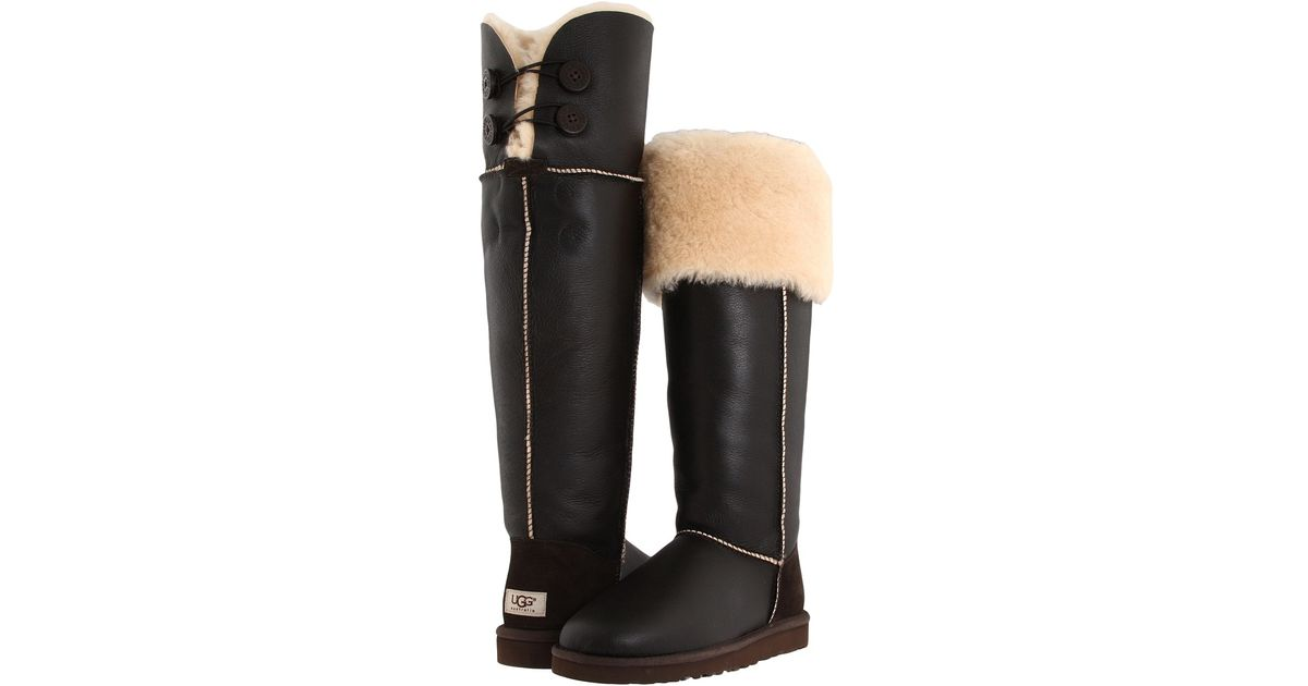 UGG Over The Knee Bailey Button in