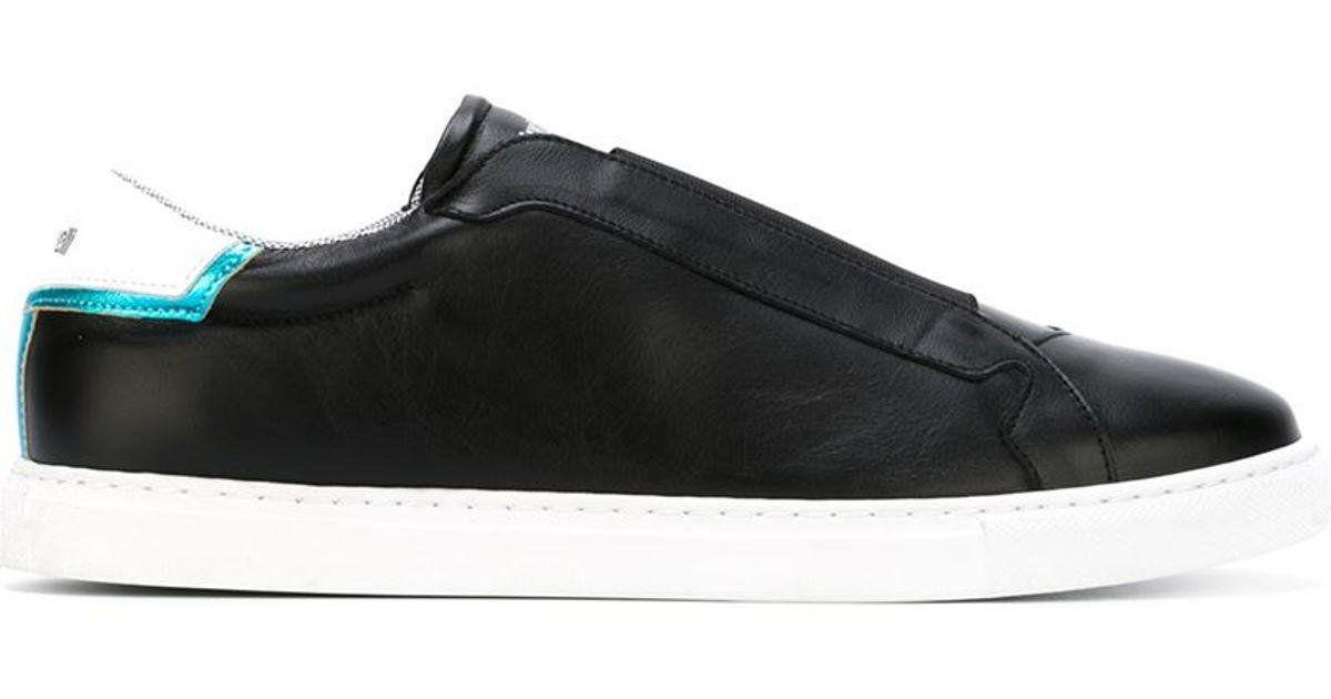 sale retailer 09d70 65261 Just Cavalli Black Classic Slip-on Sneakers for men