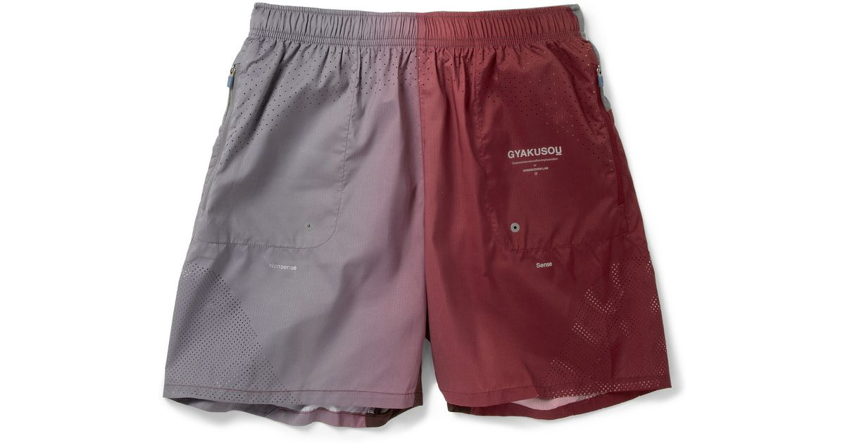 66ac26562b91f Nike Red Gyakusou Running Shorts for men