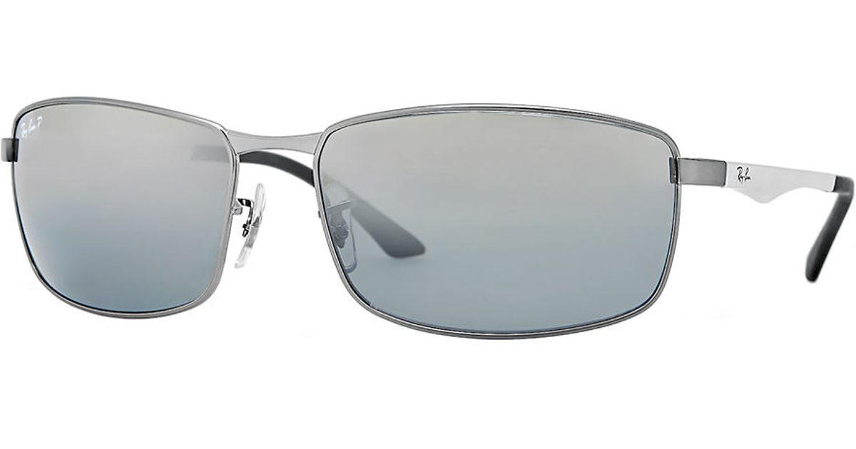 7b0b49aa2d best ray ban mens orb4151 rectangle sunglasses d9062 2f115