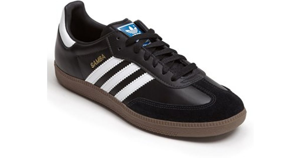 best website dc8df bd5cc Adidas Originals - Black samba Indoor Soccer Shoe - Lyst