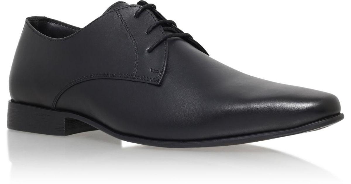 kg by kurt geiger edmonton lace up formal shoes in black