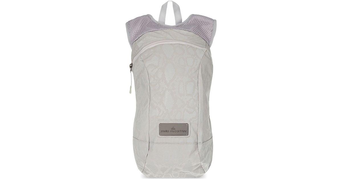 36de1ae714b9 Lyst - adidas By Stella McCartney R Zipped Backpack in Metallic