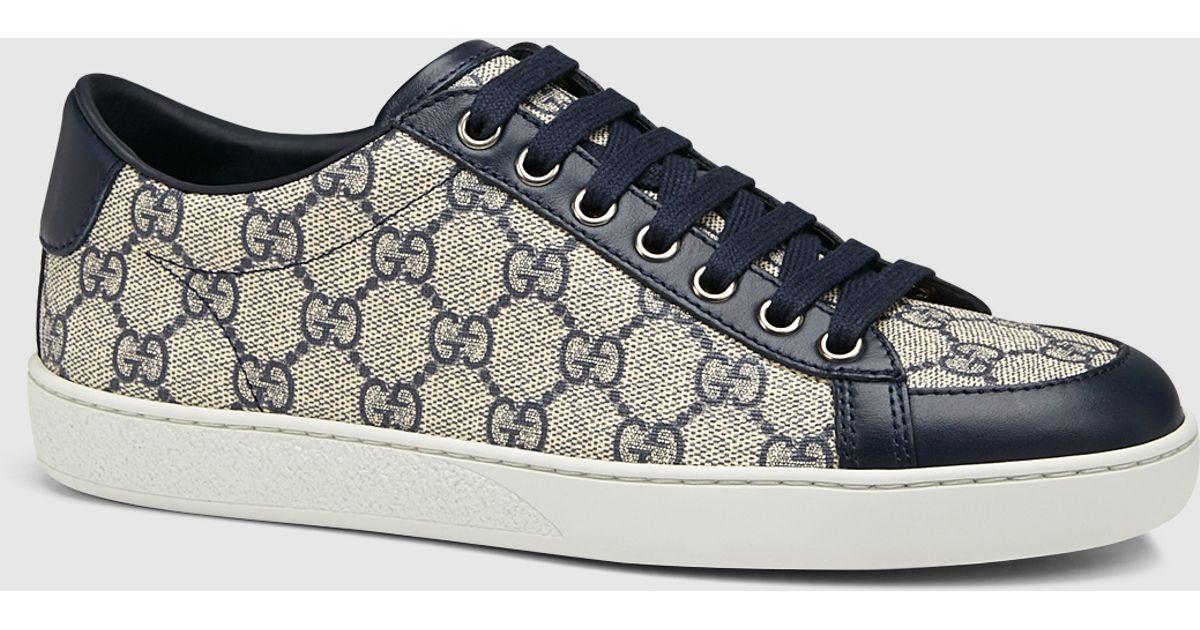 848993de75 Gucci Gray Brooklyn Gg Supreme Canvas Sneaker