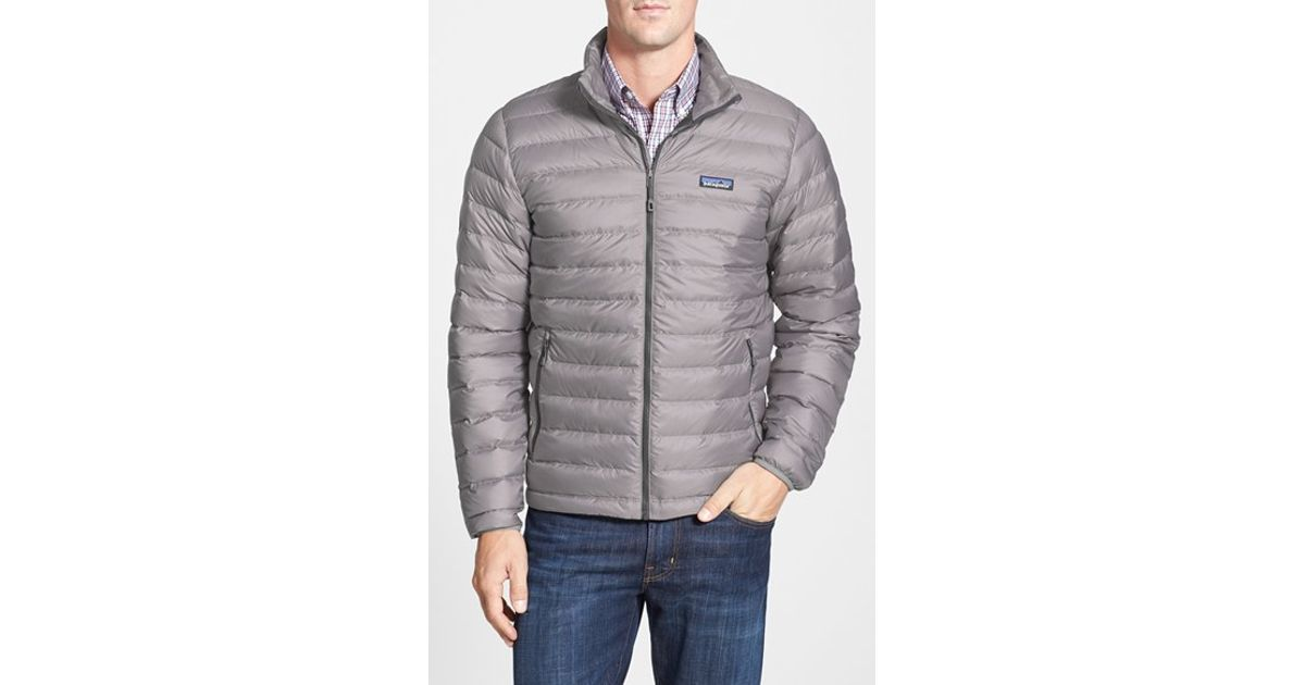 Patagonia Water Repellent 800 Fill Power Down Jacket In