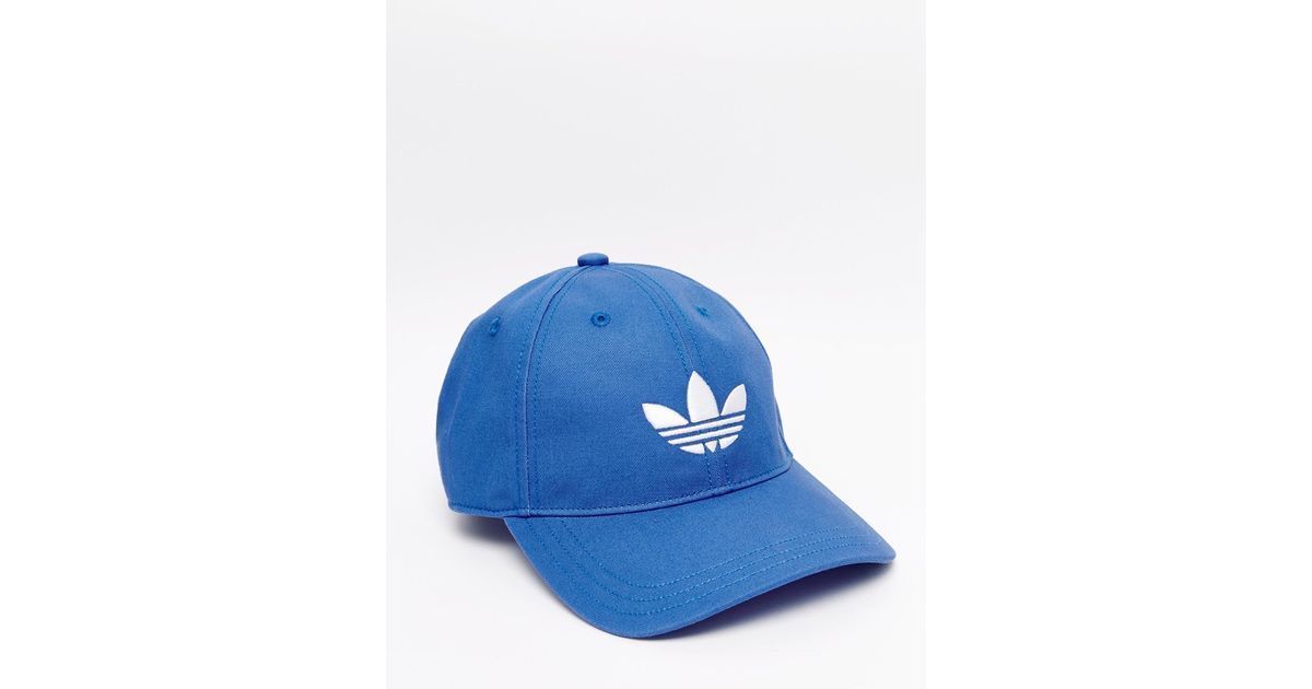 Adidas Originals Cap In Blue Aj8942 for men