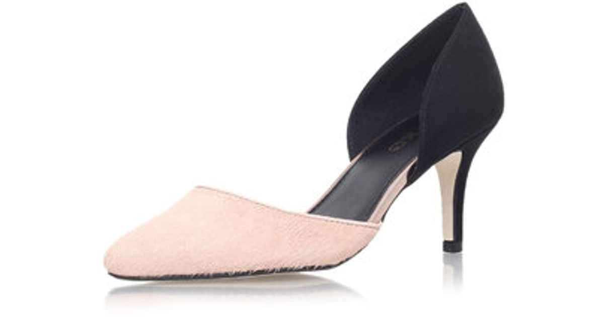 1cc95a09b3c3 Topshop Celina 2 Mid Heel Court Shoes By Miss Kg in Pink - Lyst