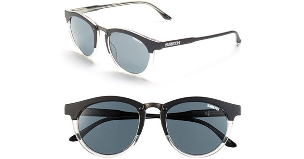 c0989d8702bda Lyst - Smith Optics  questa  49mm Cat Eye Sunglasses in Black