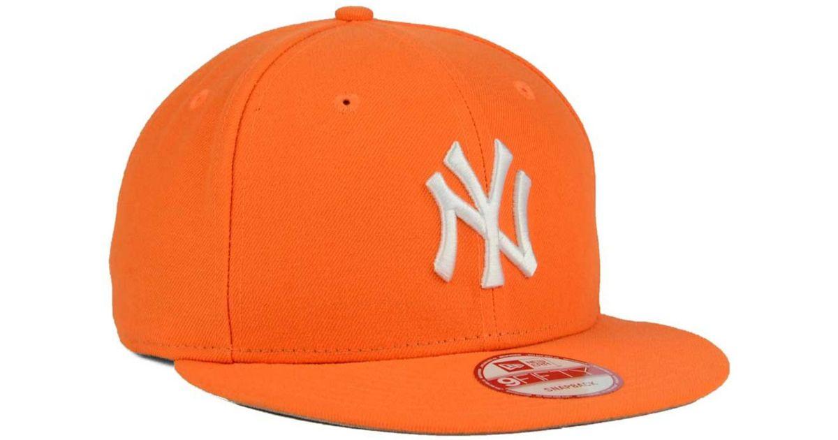 NEW ERA 9Forty Canvas Yankees Cap Baseballcap Basecap MLB Strapback NY York