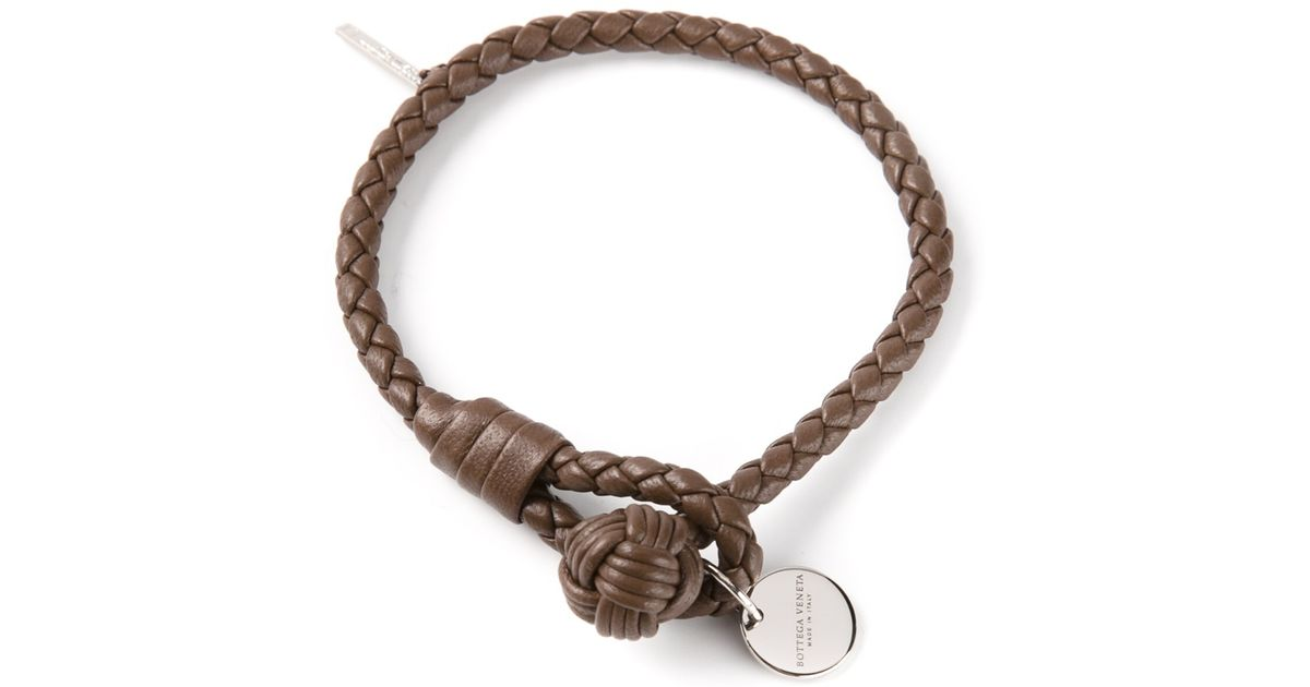 buy to shop dark braided veneta bottega men bracelet brown leather original how where wear
