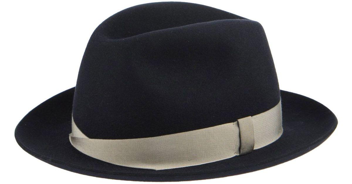b712f8a71 Barbisio - Blue Hat for Men - Lyst
