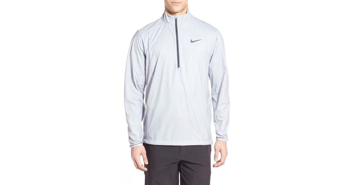salomon ce - Nike 'hyperadapt Shield 2.0' Half Zip Pullover in Gray for Men | Lyst