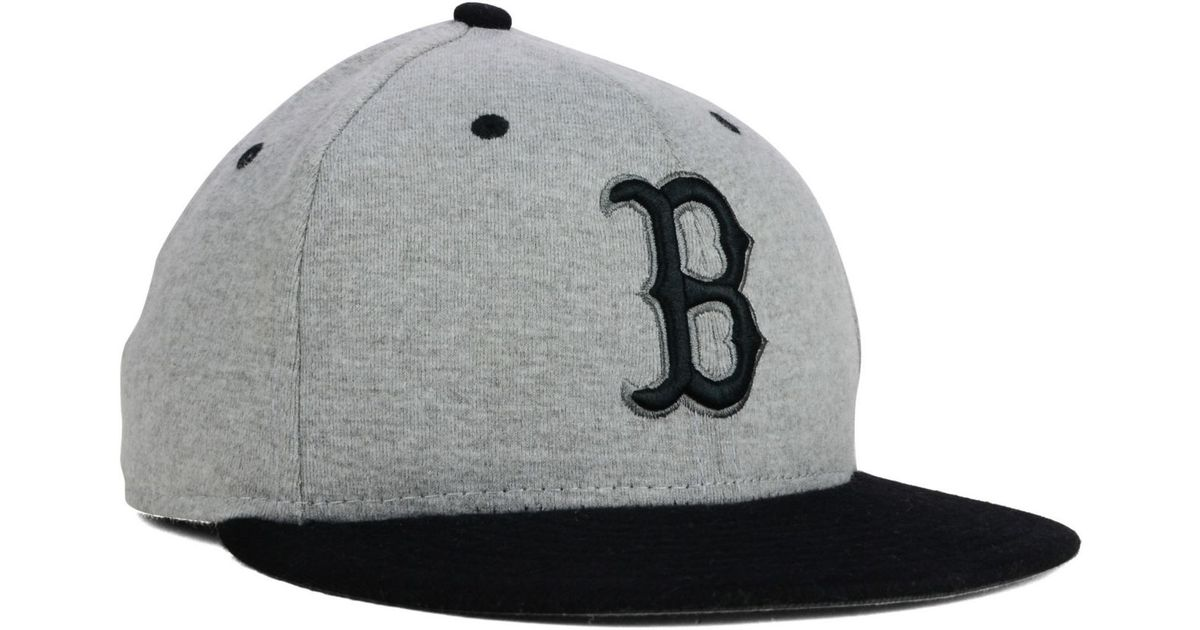Lyst Ktz Boston Red Sox 2 Tone 59fifty Cap In Gray For Men