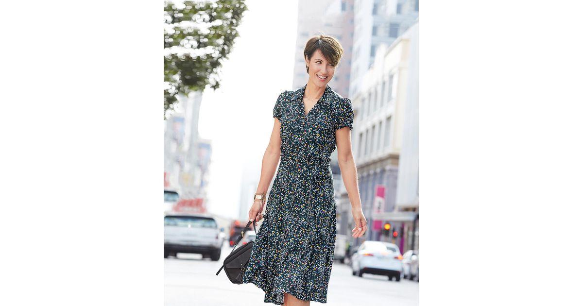 DAMART Button-through Dress - Lyst 7ceb07038