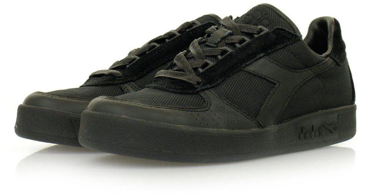 aa02b9d8 Diadora Borg Elite Mm Sw Black Shoes 80013 for men