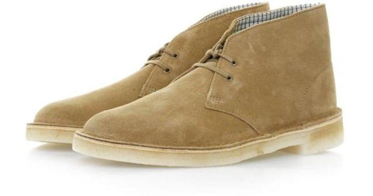 Clarks Desert Boot Oakwood Suede Boots For Men Lyst