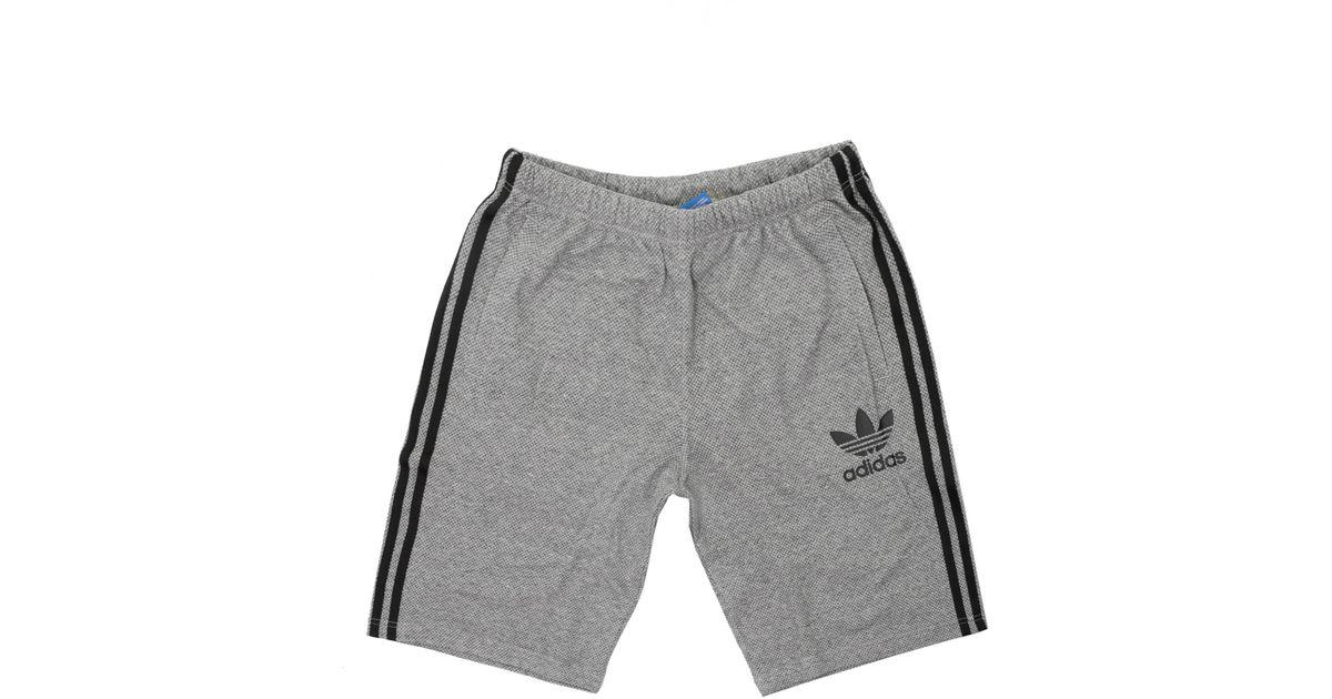 tornillo mosquito escalera mecánica  adidas Originals Cotton Ac Baggy Shorts in Gray for Men - Lyst