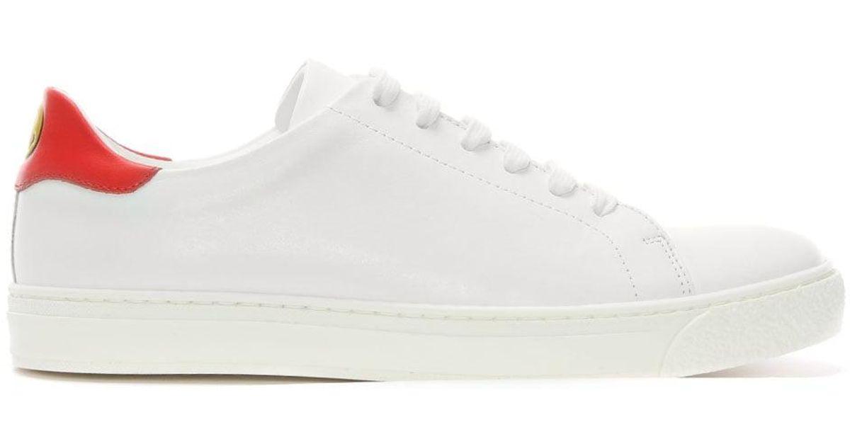 Anya Hindmarch Lacent Chaussures De Sport - Blanc R5JbhU