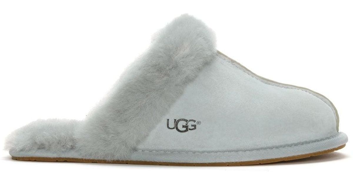 53d7436f9a0 Ugg Gray Women'S Scuffette Ii Grey Violet Shearling Slippers