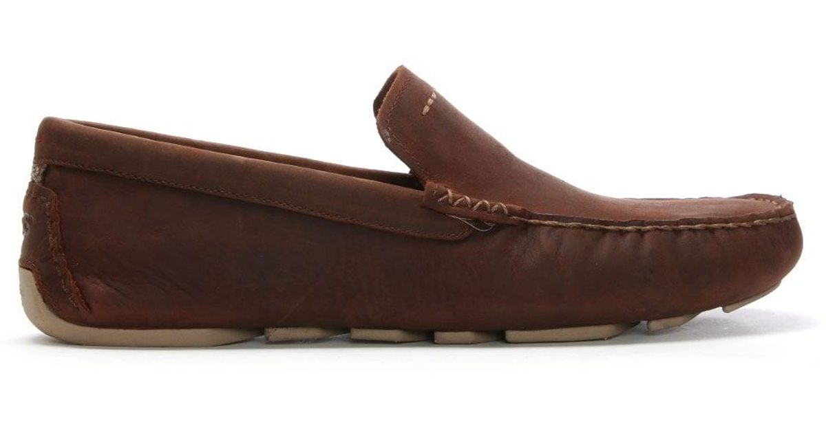 4c5c52ecad7 Ugg Men'S Henrick Ii Red Clay Leather Driving Shoes for men