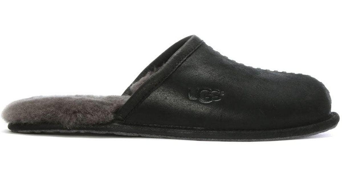 a82bd470b82 Ugg Men'S Scuff Deco Black Slippers for men