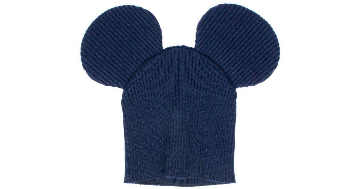 d100eadc33d Lyst - Comme des Garçons  mickey Mouse  Hat in Blue