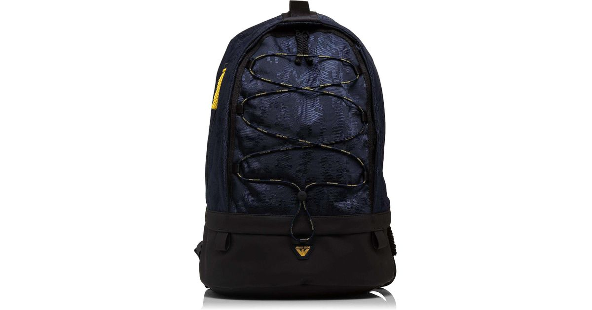 Armani Jeans Digital Camo Printed Nylon Backpack in Blue for Men - Lyst 693d23e85939b